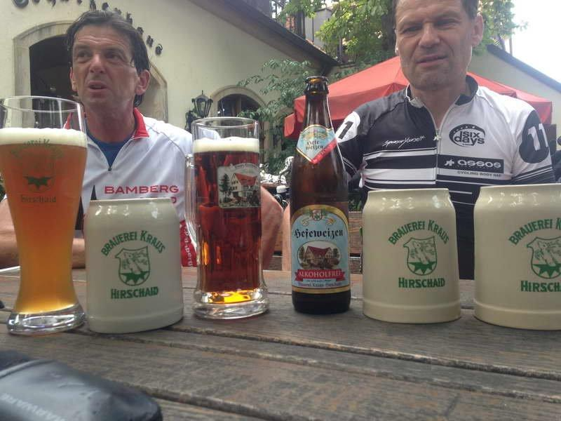 A stop in the Staffelbergbräu pub and brewery is well deserved whether your tour around the Staffelberg has been by road bike or by mountain bike.