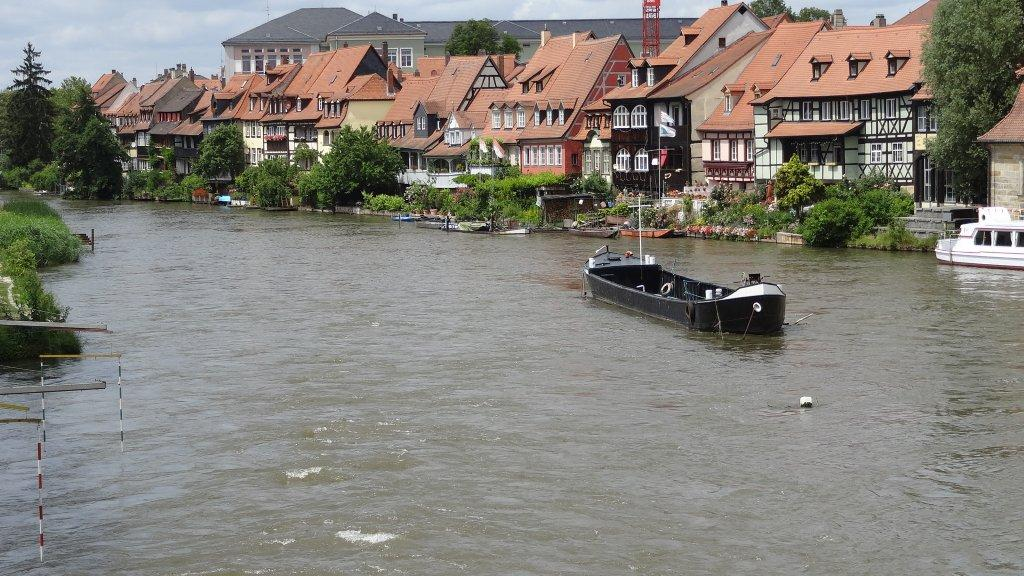 This part of Bamberg is known, not without reason, as Little Venice.