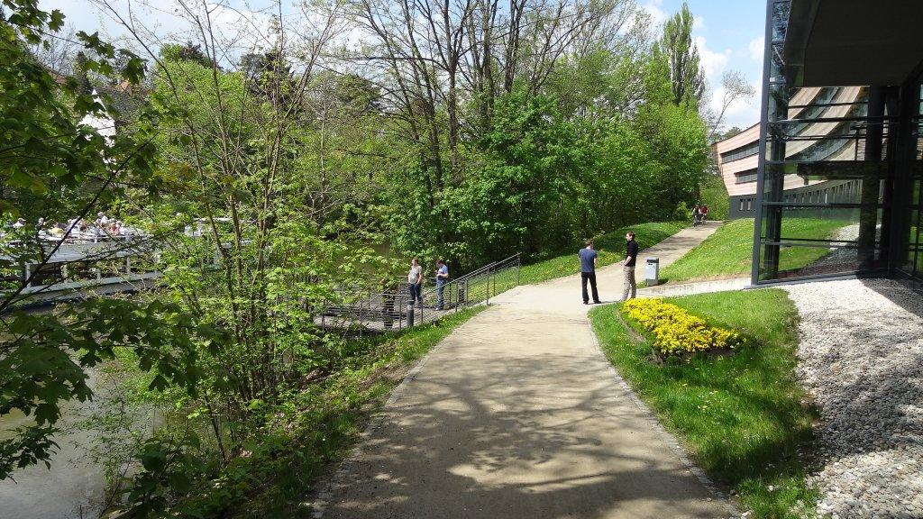 Along the Regnitz to the ERBA park – a pleasure by bike!