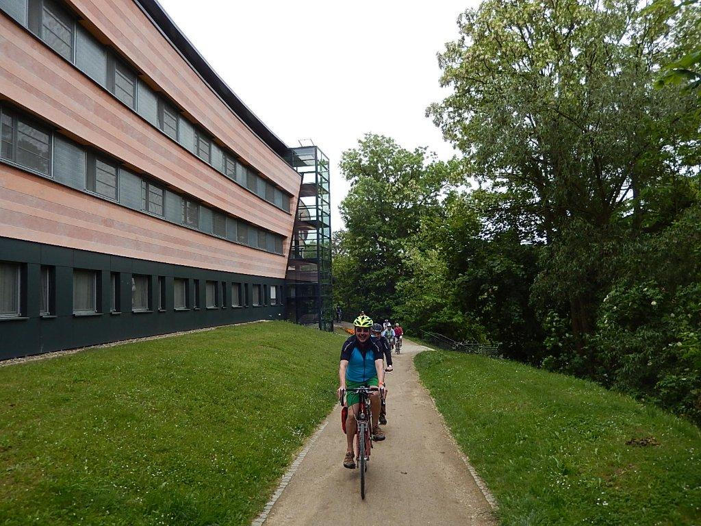 Countless cycle paths in Bamberg will tempt you on to your bike.